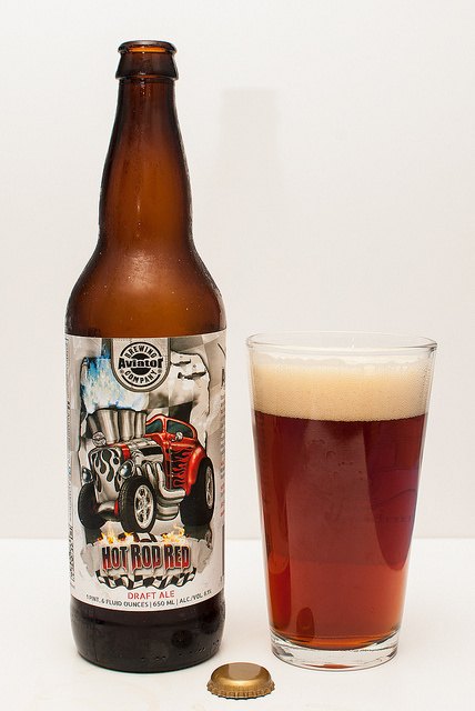 Avaitor Hot Rod Red Ale